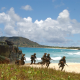 military, beach, soldier, tropics, sea, ocean wallpaper
