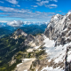 alps, austria, snowy peaks, mountains, landscape, nature wallpaper