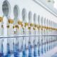 sheikh zayed mosque, mosque, abu dhabi, united emirates wallpaper