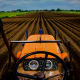 field, farmers, tractor wallpaper
