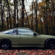 nissan 180sx, car, nissan, autumn, leaf, forest wallpaper