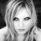 portraits, blondes, women, eyes, monochrome, hypnotic, young girl wallpaper