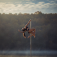gymnastics, women, sports, fog, mist, water, dance, gym wallpaper