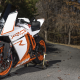 ktm rc8r, ktm, forest, motorcycle, bike wallpaper