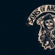 sons of anarchy, tv-series, movies, logo wallpaper