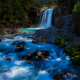 tawhai falls, tongariro national park, new zealand, waterfall, river, forest, nature wallpaper