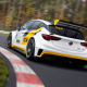 opel astra tcr, car, race tracks, motion blur, forest wallpaper