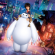 big hero 6, hiro hamada, baymax, movies, cartoon wallpaper