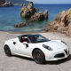 2015 alfa romeo 4c spider 960, car, alfa romeo 4c, sea, alfa romeo wallpaper