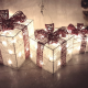 christmas, gift, light, new year, lamp wallpaper