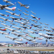 los angeles, lax, airport, aircraft, airplane, collage wallpaper