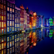 amsterdam, city, cityscape, reflection, netherlands wallpaper