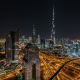 dubai, united arab emirates, night, city wallpaper