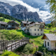san cassiano, alta badia, badia, south tyrol, italy, dolomites wallpaper