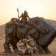 star wars: episode vii - the force awakens, rey, daisy ridley, bb-8 wallpaper