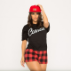 tianna gregory, women, model, baseball cap, t-shirt wallpaper