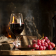 wine, alcohol, red grapes, food, wine bottle wallpaper