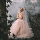 bride, wedding dress, women, model, outdoors, forest, horror wallpaper