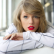 taylor swift, women, celebrity, portrait, face, singer, red lips, lipstick wallpaper
