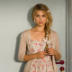 dianna agron, the family, belle blake, belle manzoni, pigtail, dress, actress, women wallpaper