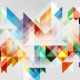 abstraction, graphics, triangles wallpaper