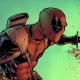 deadpool, comic books, sword, blood wallpaper