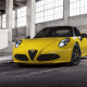 Alfa Romeo 4C Spider, car, Alfa Romeo wallpaper