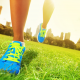 sneakers, grass, training, sport, running wallpaper