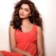 deepika padukone, indian, actress, model, brunette, red dress, curly, women wallpaper