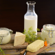 food, cheese, milk, cottage cheese, dill wallpaper