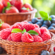 berry, fresh berries, raspberry, blueberry, food wallpaper