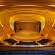 heydar aliyev center, baku, azerbaijan, concert hall, symmetry, interior, chair, stage, piano wallpaper