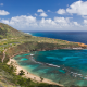 hawaii, usa, tropical, mountains, sea, ocean, beach, nature, pacific ocean wallpaper