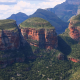 blyde river canyon, mpumalanga, nature, landscape, mountains, canyon, erosion, cliff, south africa wallpaper