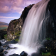 powerscourt waterfall, enniskerry, county wicklow, ireland, waterfall, nature wallpaper