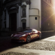 aston martin, sunlight, aston martin canquish, cars, city wallpaper