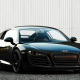 audi r8, audi, cars, audi r8 spoiler, black car wallpaper