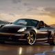 porsche boxster, cabrio, sunset, cars, porsche wallpaper