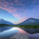 lake, mountain, reflection, sky, landscape, nature wallpaper