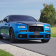 2016 rolls-royce wraith blue, rolls-royce, cars, mansory, tuning wallpaper