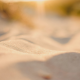 macro, sand, depth of field wallpaper