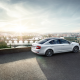 skoda octavia sedan, skoda octavia, cars, skoda, prague, chech republic, city wallpaper