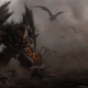 daemon, monster, artwork, fantasy, art wallpaper