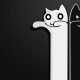 longcat, cat, minimalism wallpaper