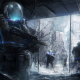 artwork, soldier, futuristic wallpaper