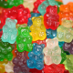 colorful, sweets, gummy bears, depth of field, food, jelly wallpaper