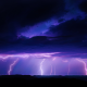 lightning, night, storm, thunderstorm, dark clouds, nature wallpaper