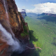 nature, landscape, mountain, waterfall, Venezuela wallpaper