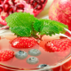 drink, strawberry, pomegranate, cranberry, mint, food wallpaper