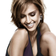 Jessica Alba, smile, actress wallpaper